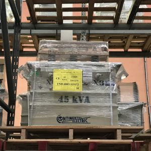Transformador Continental Electric 45 Kva Poste Trifásico 13200