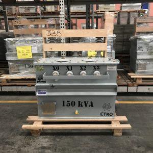 Transformador RTE ETKO 150 Kva Poste Trifasico 13200 220/127